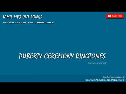 Mottu vitta thaamaraiye - Puberty Ceremony Ringtones | Tamil mp3 Cut Songs