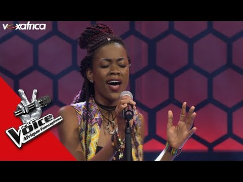 Lydie ' Persévère ' Olivier Cheuwa Audition à l'aveugle TheVoiceAfrique francophone 2017