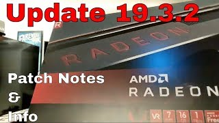 New AMD Radeon VII Update 19.3.2 ( 2019 ) { Vega 2 patch notes } #update #radeonvii