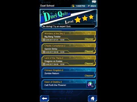Yugioh Duel Links - Duel Quiz Level 3 : Dawn of Destiny 2