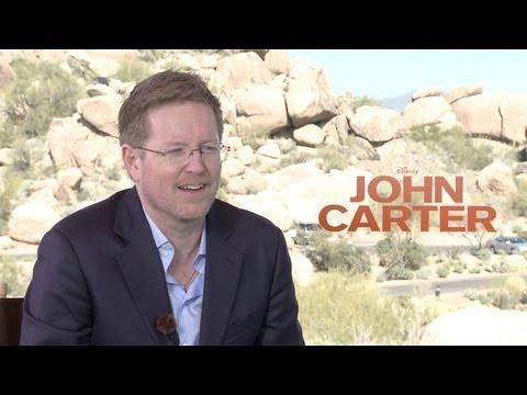 'John Carter' Andrew Stanton Interview HD