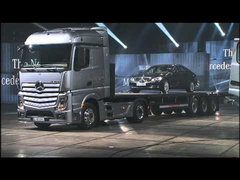 New Mercedes-Benz Actros 2011 - Engineering and Interior