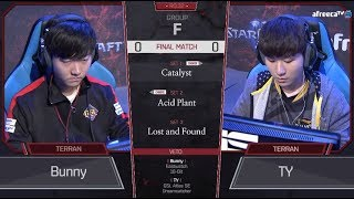 [2018 GSL Season 3] Code S Ro.32 Group F Match5 TY vs Bunny