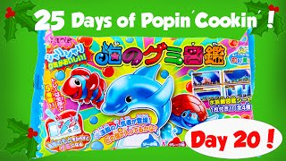 Making Marine Life Gummy Candy! Day 20 of the 25 Days of Popin Cookin!