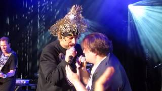"Jack Black Joins Boy George onstage during Culture Club Concert to sing Bowie's ""Star Man"" 7/23/15"