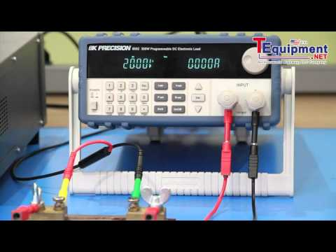How to Measure the Slew Rate of a DC Electronic Load