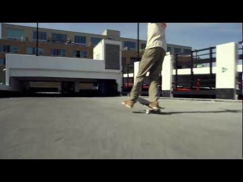 Skate Invaders -  Roof tops and Manuals