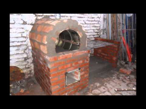 Construccion horno de barro y parrilla youtube for Mejor parrilla para casa