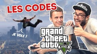 Cyprien Squeezie - GTA 5 : les codes !