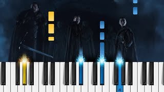 Game of Thrones: Crypts of Winterfell (Season 8 Official Tease) - Piano Tutorial