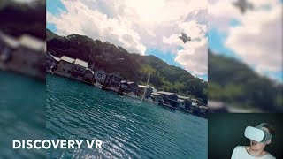 Travel the World in less than an hour. (Discovery VR Test)