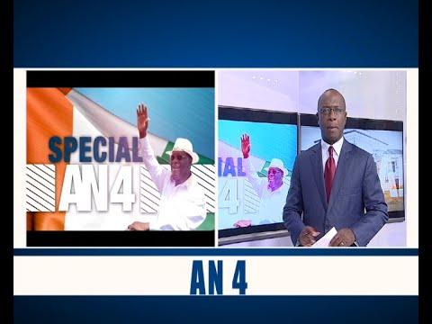Spécial an 4 du Président Alassane Ouattara à la tête de la Côte d'Ivoire, l'intégrale