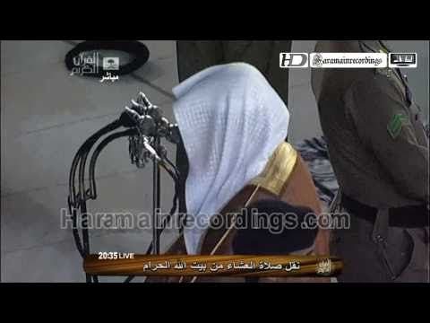 [extremely Emotional] Hd Makkah Isha 2nd May 2011 By Sheikh Khalid Ghamdi video