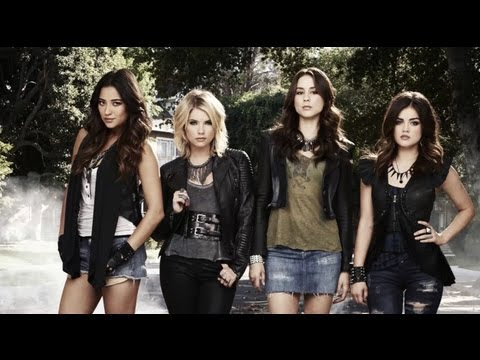 Pretty Little Liars 2013 Season 3 Photoshoot - Lucy Hale Shay Mitchell Ian Harding
