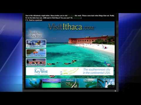 Ithaca Tourism Says Go to Florida