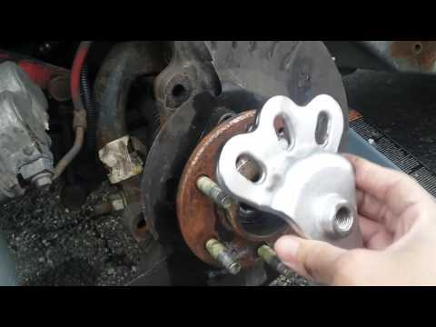 Front Wheel Bearing Replacement Cadillac SRX