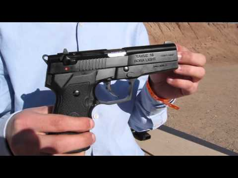 Girsan Yavuz 16 Bora Light Pistol (Made in Turkey) - SHOT Show 2012