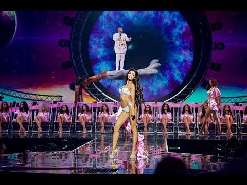 Финал Мисс Украина 2017: MONATIK – МОКРАЯ || Дефиле в купальниках