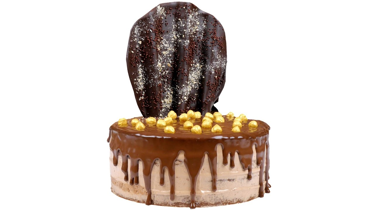 """Торт """"Нутелла"""". Пошаговый рецепт приготовления торта.  - «Видео советы»"""