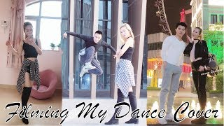 VLOG - FILMING MY DANCE COVER 🖤 MORE KPOP DANCING 👯♀️ I NEVER GET TIRED OF DANCING 👱🏻♀️❤️👯♀️