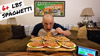 Eating Over 6LBS Of Spaghetti