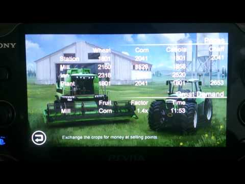 Farming Simulator on Playstation Vita