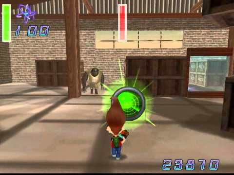Jimmy Neutron VS Jimmy Negatron walkthrough part 9: Boss 3: Hermin