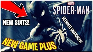 NEW GAME PLUS ARRIVES! ULTIMATE DIFFICULTY! NEW SUITS AVAILABLE // Spider-Man PS4