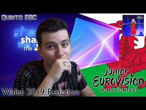 Erin Mai Grove - Calon yn Curo Reaction - Junior Eurovision 2019(Wales) - Quinto ESC