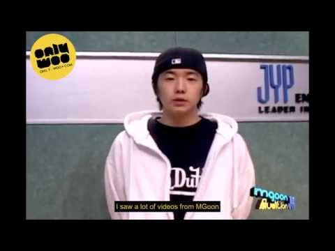 [WOOSUBS] JYP's MGOON Audition (PRE-DEBUT) - Wooyoung cuts