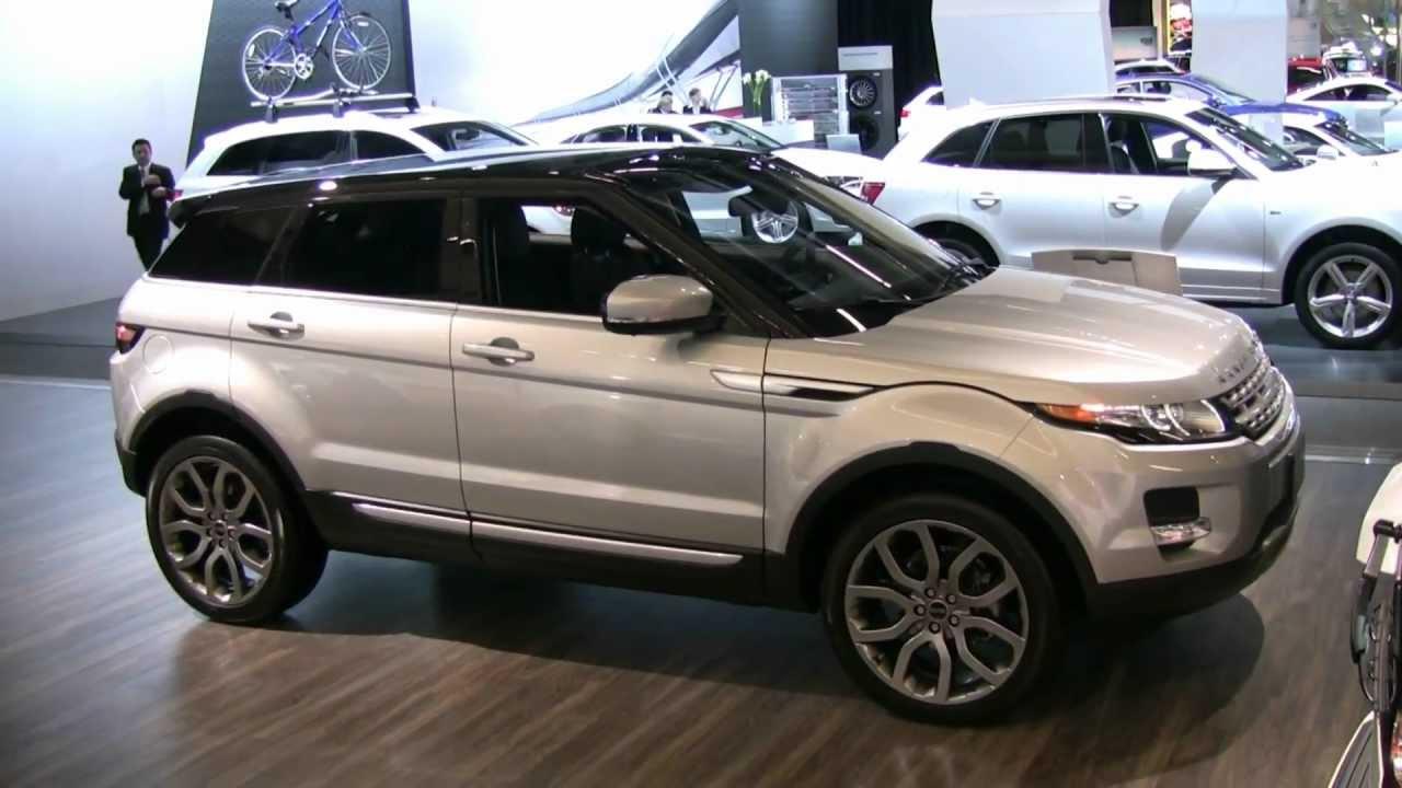 2012 Range Rover Evoque Exterior and Interior at 2012 ...