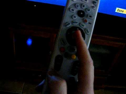 Program DirecTV remote with Xbox 360