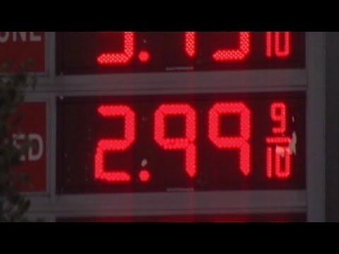 Gas Prices Below $3 in More Than a Dozen States