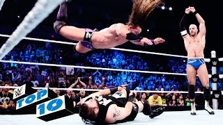 Top 10 SmackDown moments: WWE Top 10, August 13, 2015
