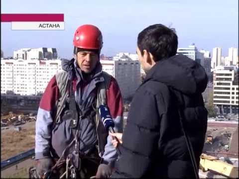 Промышленные альпинисты: работа с риском для жизни