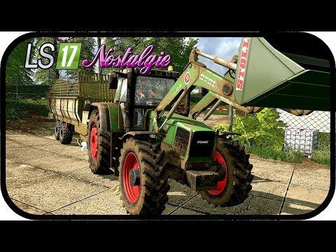 LS17 NOSTALGIE Spezial #259 - Mit dem FENDT 800 um die Tiere kümmern ★ Farming Simualtor 17 Deutsch
