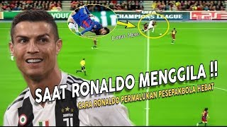 Do You Remember That ? When Ronaldo Going Crazy And Humilliates Great Players
