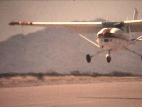 Raw film: 1980 Air Show Socorro, NM