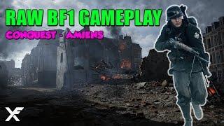 Battlefield 1 Raw Gameplay - Conquest Amiens - Medic Gameplay