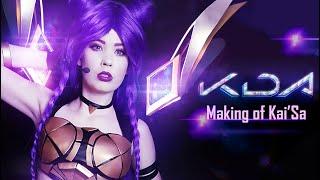 K/DA KAI'SA Cosplay - Making of + Showcase!