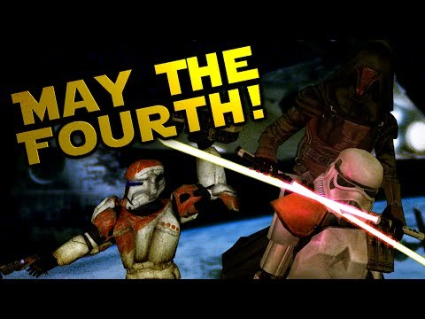 May The Fourth Be With you! (Star Wars PC Games)