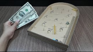How to Make Cardboard Game with Marble - TQK HACKS