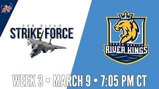 Week 3   San Diego Strike Force at Cedar Rapids River Kings