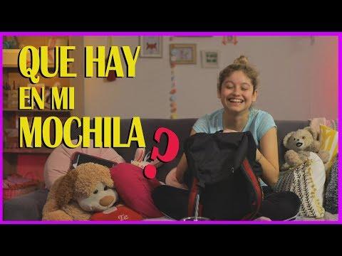 Karol Sevilla I Qué hay en mi Mochila I #QueHayEnMiMochi