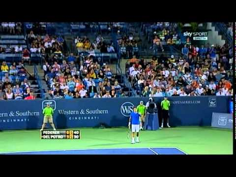 Federer – Del Potro 2-0   2°t  CIN2011  Best Roger's points