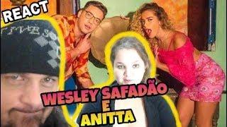 download musica REAGINDO - WESLEY SAFADÃO FEAT ANITTA ROMANCE COM SAFADEZA - REACT