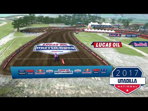 2017 Unadilla motocross track map
