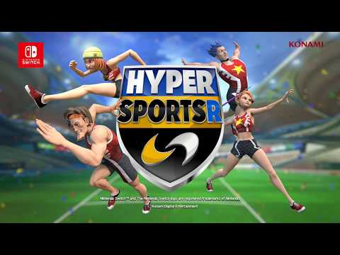 HYPER SPORTS R (Nintendo Switch) E3 2018 Debut Trailer