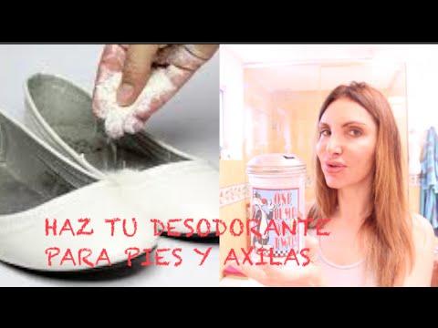 Desodorante Casero para Zapatos y Axilas / DIY Shoe Powder