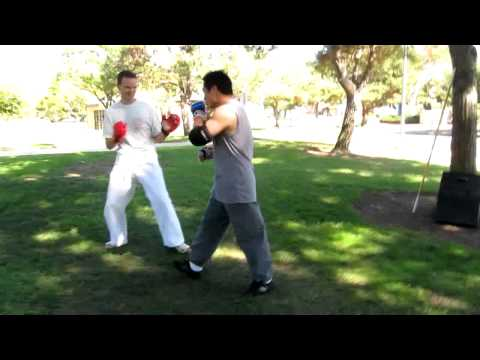 Uechi Ryu Karate vs Wing Chun Sparring- Meetup Image 1